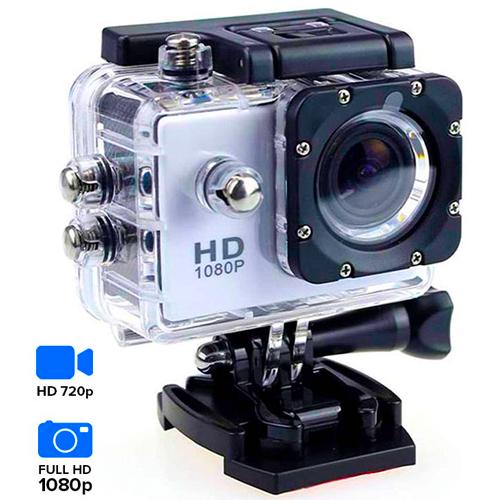 Câmera desportiva de alta qualidade