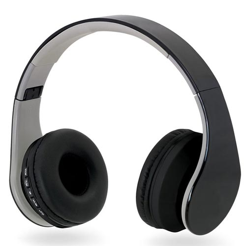 Auscultadores Bluetooth dobráveis