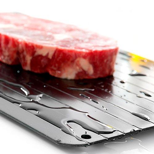 Tabuleiro de descongelação rápida de alimentos